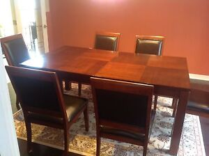 Used dining table and chairs for sale