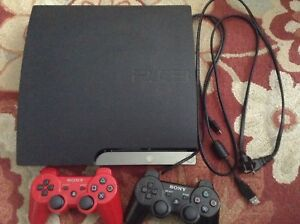 PS3 Slim Console with 20 games