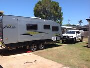 Avan  Infinity 2015  Semi Off Road Caravan, with slide out bed. Kippa-ring Redcliffe Area Preview
