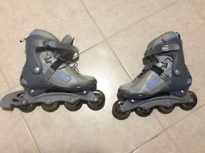 Roller Blades with wrist guard