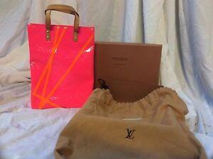 Rare Louis Vuitton Robert Wilson pink Vernis tote Cranebrook Penrith Area Preview