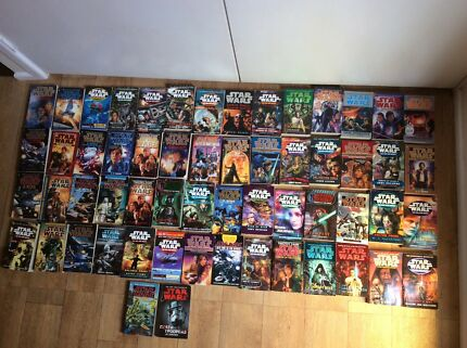 Star Wars book collection