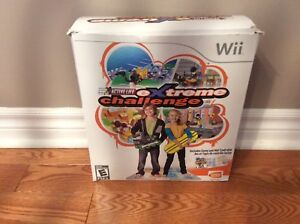 Wii Extreme Challenge game with interactive mat
