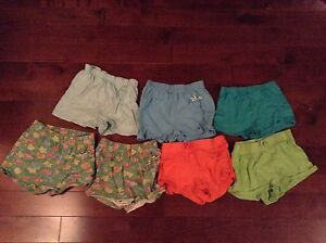 Linge pour fille (shorts/camisoles)