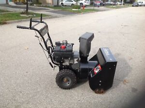 Murray 24 inches wide double stage & self propelled snowblower