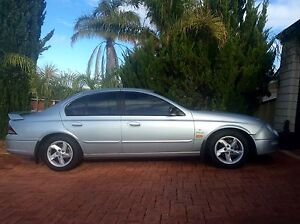 2000 FORD FALCON AUII XR6 VCT 4 SPEED AUTOMATIC SEDAN Cloverdale Belmont Area Preview