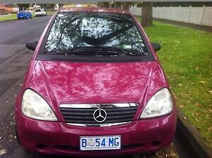 2001 Mercedes-Benz A160 Hatchback North Hobart Hobart City Preview