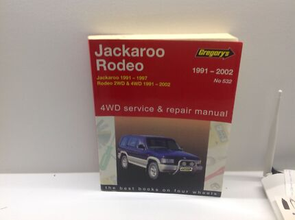 Jackaroo Service & Repair Manual Clarence Town Dungog Area Preview