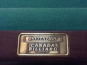 Invitation Canada Billiard & Bowling Inc.
