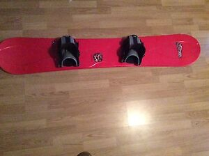 """65"""" atlas snowboard with bindings - excellent condition $50"""