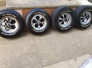 """14"""" Bias-Ply Tires and Keystone Mags"""