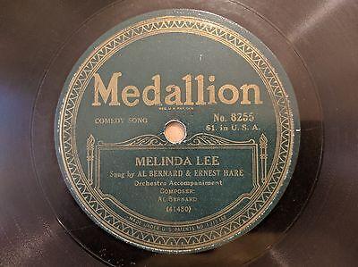 RARE LABEL MEDALLION 8255 Bernard & Hare Melinda Lee b/w A. Fields V++