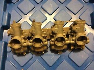 #2 SOLD 69 Honda CB750 Sandcast Carbs Carburetors For Parts
