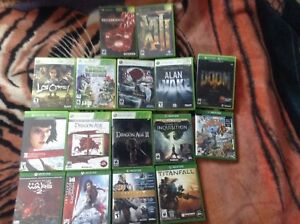 Xbox Games (Original Xbox, Xbox 360 & Xbox One)