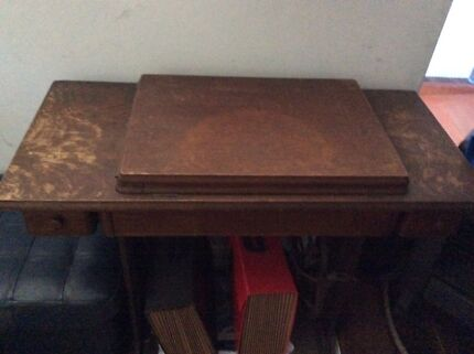 Singer treadle sewing machine. Open to offers