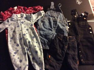 Size 3 to 6 month lot of baby clothes