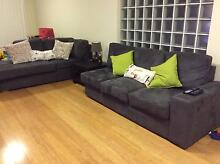 5 Seat Modular Chaise Moorebank Liverpool Area Preview