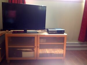 TV stand with storage