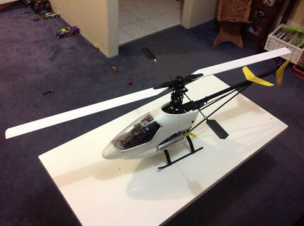 Century Hawk Pro RC Nitro Helicopter for swap or sale