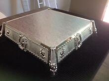 Silver Square  Wedding Cake Stand Kallangur Pine Rivers Area Preview