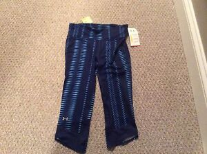 NWT under armour running tights / capris