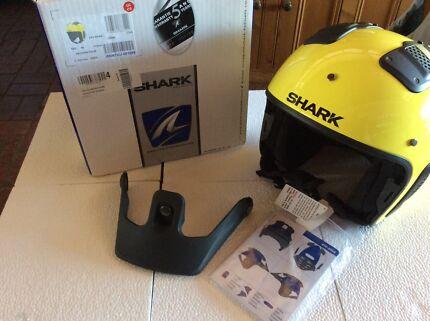 Shark Motorbike helmet new