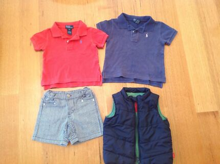 Baby boys Ralph Lauren, Esprit and Cotton On Rosanna Banyule Area Preview