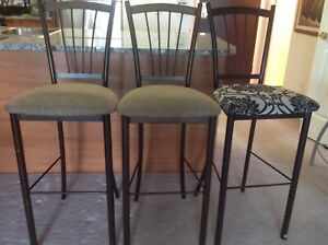 BAR STOOLS 3 FOR $75.00 GREAT VALUE.