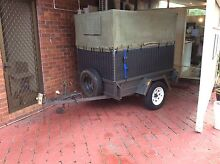 6 x 4 trailer with cage and cover Manoora Cairns City Preview