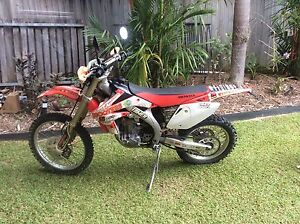 2007 crf450x Redlynch Cairns City Preview