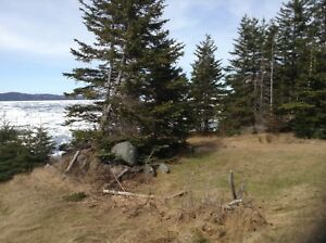1/4 acre unobstructed ocean front property, in Langdons Cove ,