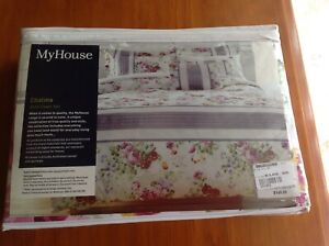 Quilt Cover, (My House) - Double/King Single (NEW)