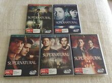 Supernatural Seasons 1-5 Como South Perth Area Preview