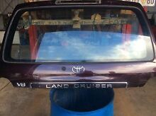 Landcruiser 100 series upper tail gate 07 model North Beach Stirling Area Preview