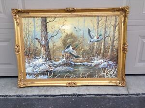 Vintage Gold Frame Wall Picture
