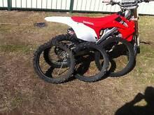 3 bikes for sale Honda CFR 250,Honda CRF 110,110 manual copy pw80 Metford Maitland Area Preview