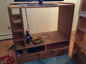 Free wooden tv stand