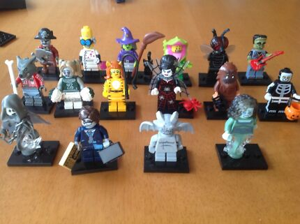 Lego Minifigures series 14 monster