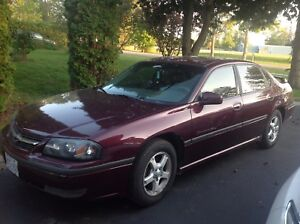 2003 Chevrolet Impala Being Sold As Is Please phone no emails