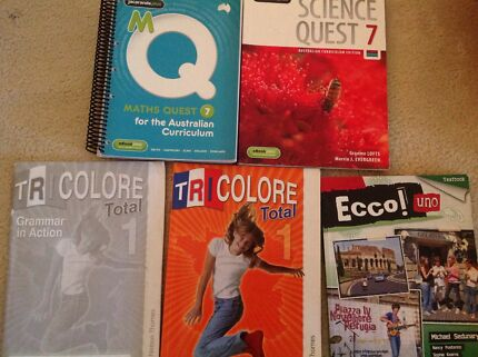 Year 7,8,9,10 Textbooks