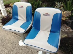 2 Pedestal / Swivel Boat Seats Morayfield Caboolture Area Preview