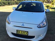 2013 Mitsubishi Mirage LA ES Hatchback 5dr Man 5sp 1.2i [MY14] Camden Camden Area Preview