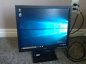 """17"""" Acer monitor"""