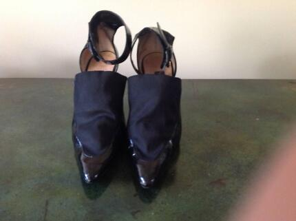 Ladies Designer Shoes from Paris - Black Paton Brighton East Bayside Area Preview