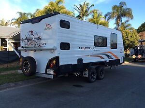 2014 Jayco Starcraft 20.62-3 Double Bunk Outback Kippa-ring Redcliffe Area Preview
