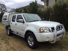 2004 Nissan Navara STR 3 litre diesel dual ab ute only 125000KLMS Eight Mile Plains Brisbane South West Preview