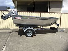 3.75m Alley Craft Alluminium 20hp Mariner. SOLD PP Shellharbour Shellharbour Area Preview