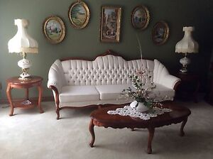 Living room set, couch, love seat and chair