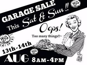 **MASSIVE GARAGE SALE!@! This Weekend 13th & 14th AUG@PETERSHAM Petersham Marrickville Area Preview