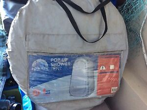 Camping porta a toilet with pop up shower tent Mullaloo Joondalup Area Preview